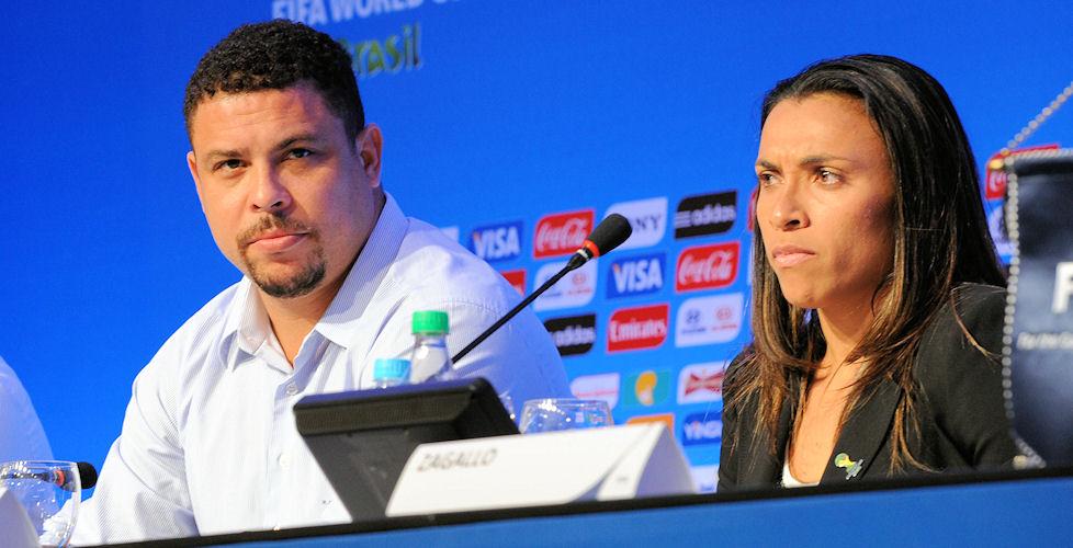 Brasilien, Ronaldo und Marta