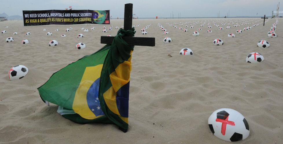 Brasilien, Proteste