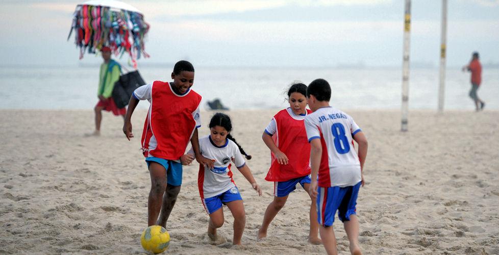 Rio de Janeiro, Strandfußball